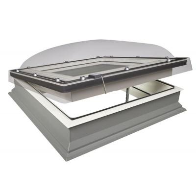 Fakro DEC-C U8 Z-Wave Electric Opening Quadruple Glazed 'Passive' Domed Flat Roof Window