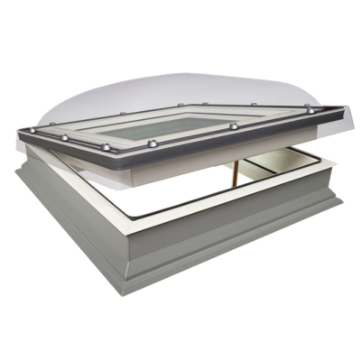 Fakro DMC-C P4 Secure Manual Opening Double Glazed Domed Flat Roof Window