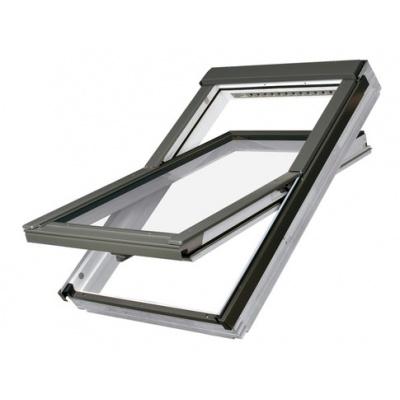 Fakro FTUV P5 Triple Glazed Polyurethane Coated Centre Pivot Pitched Roof Window