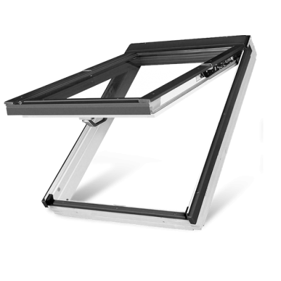 Fakro FPUV P5 Triple Glazed White Polyurethane preSelect Top Hung Pitched Roof Window