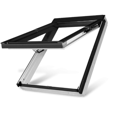 Fakro FPWV P2 Double Glazed White Acrylic preSelect Top Hung Pitched Roof Window