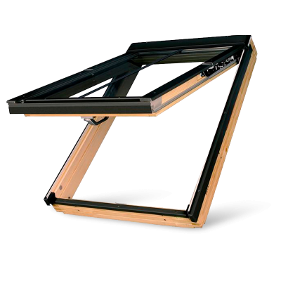 Fakro FPP-V/C P2 Double Glazed preSelect Top Hung Pine Conservation Pitched Roof Window