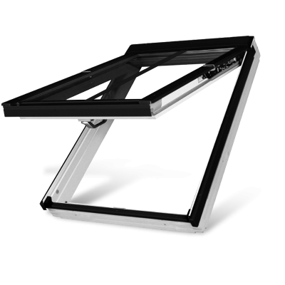 Fakro FPW-V/C P5 Triple Glazed preSelect Top Hung Acrylic Conservation Pitched Roof Window